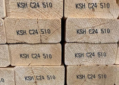 C24 Graded Timber