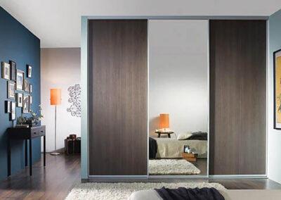 Mirrored Wardrobe 2