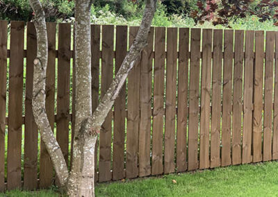 Vertical Style Fencing